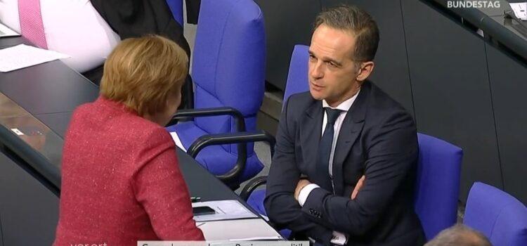 Schuld an den hohen Fallzahlen Merkel ohne Maske